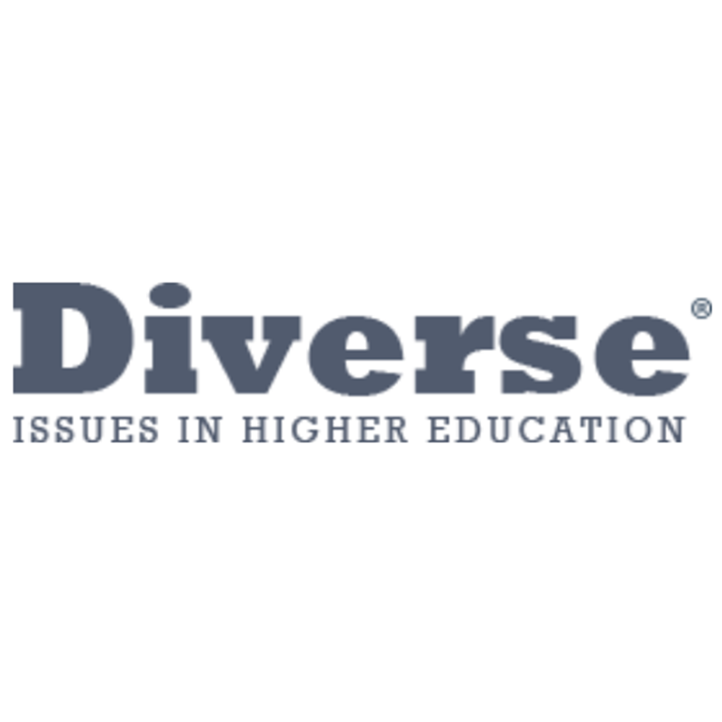 Diverse Issues in Higher Education logo featuring dark gray text on a white background